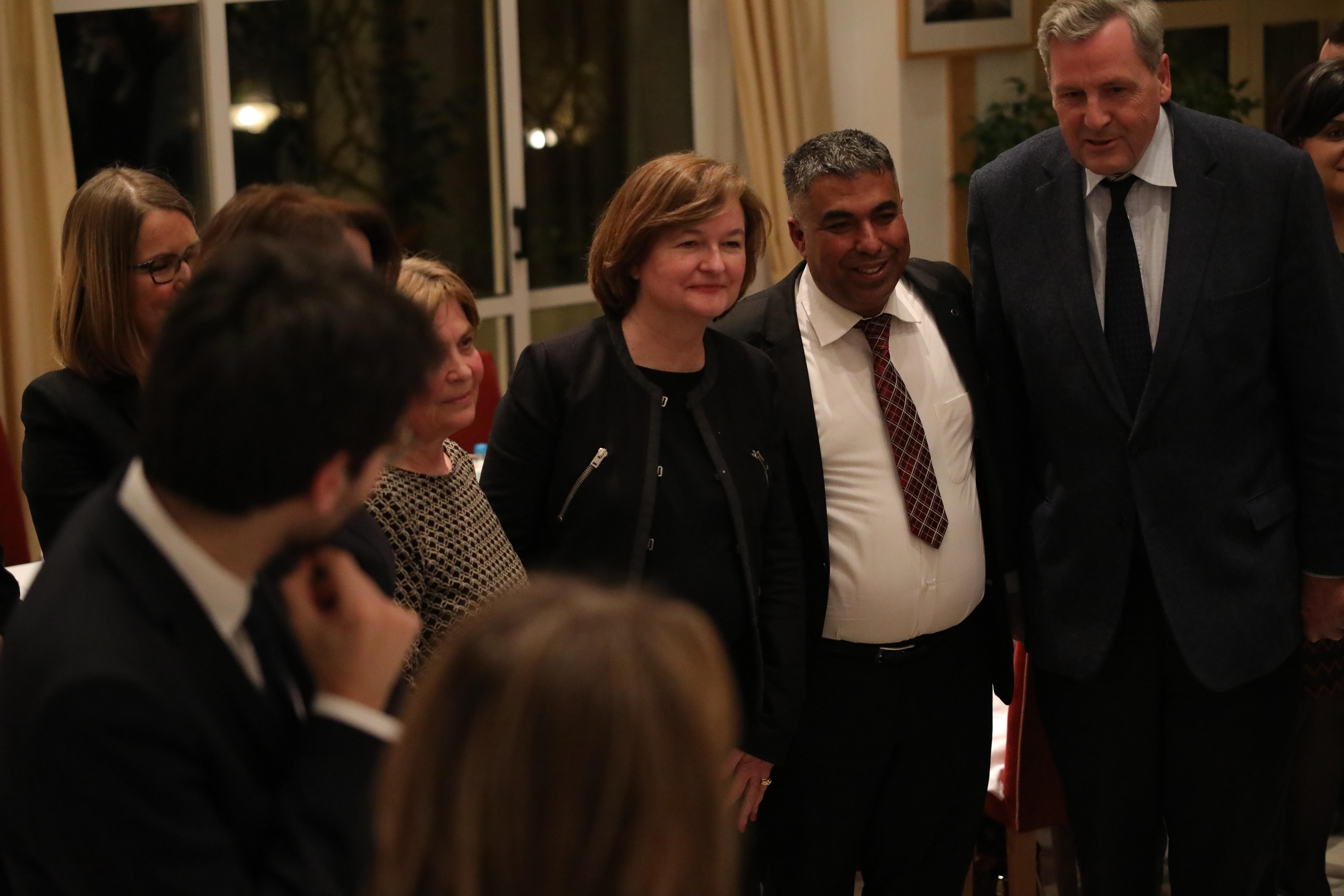 ashmet ministerka na francija i alen le roa